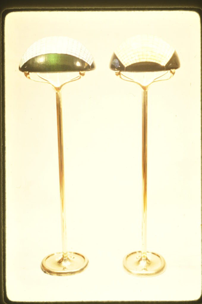 Jewl Floor Lamp with Chrome Green-1981