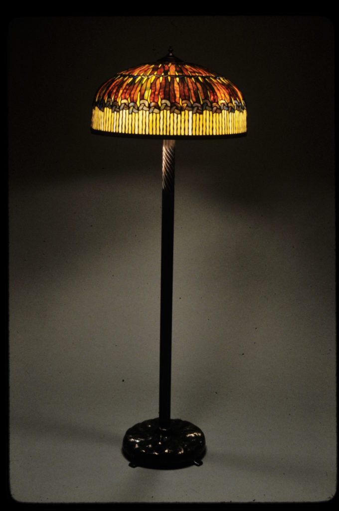 Knotted Floor lamp inspired by Tiffany-1982