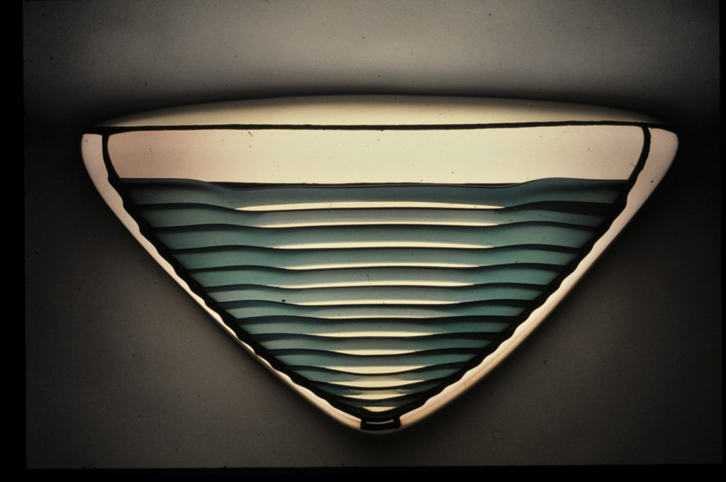 Louvred Wall Lamp-1987