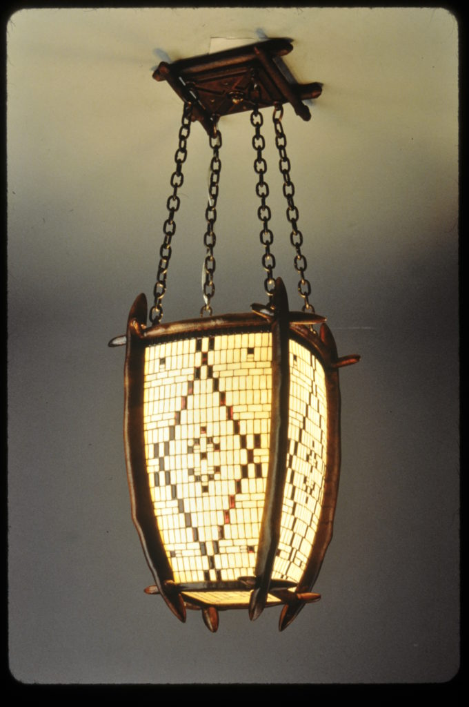 Medium size Lantern made for Boot Jack Ranch 1999